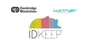 Cambridge Blockchain Luxtrust Idkeep
