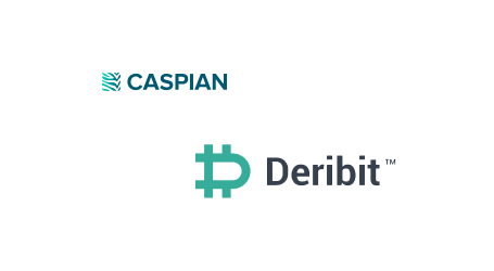 Caspian crypto trading and management platform integrates Deribit