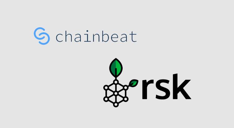 Data platform Chainbeat integrates RSK bitcoin smart contracts