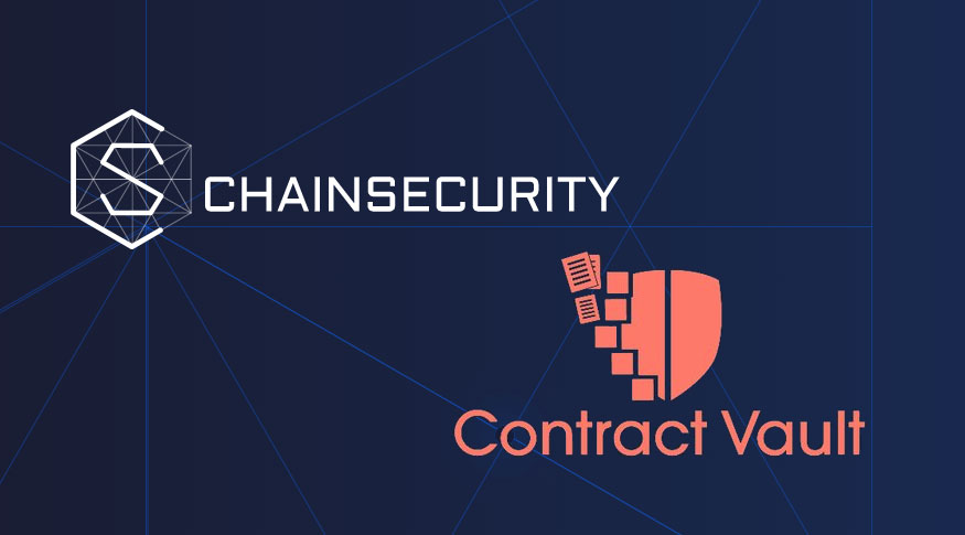 Contract Vault and ChainSecurity join forces for smart contract services