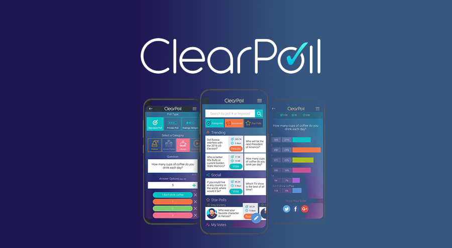 ClearPoll launches blockchain-powered opinion poll network