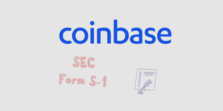 Coinbase files registration statement for proposed public stock listing