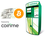 Coinme launches service enabling consumers to buy bitcoin with cash at Coinstar kiosks