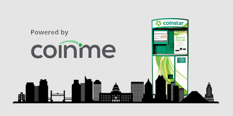 Coinme expands Coinstar kiosk bitcoin purchase network to Sacramento