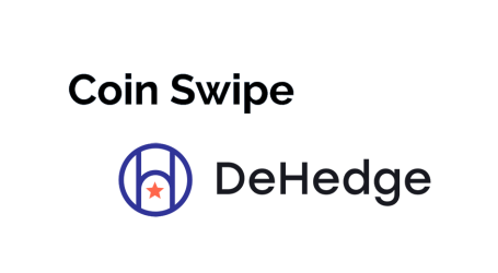 "Coinswipe and DeHedge join efforts on ""CUSIP"" for token identification ""CUTIP"""
