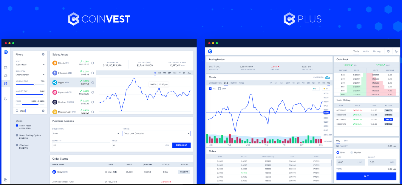 Coinvest announces launch of Coinvest and Coinvest Plus