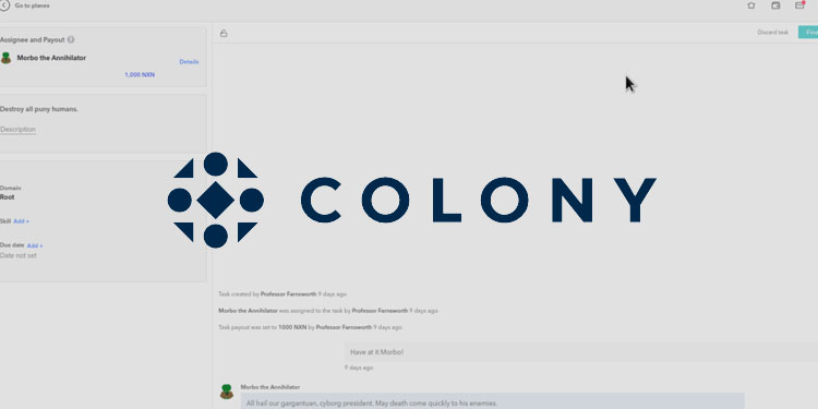 Ethereum based community collaboration platform Colony launches public beta