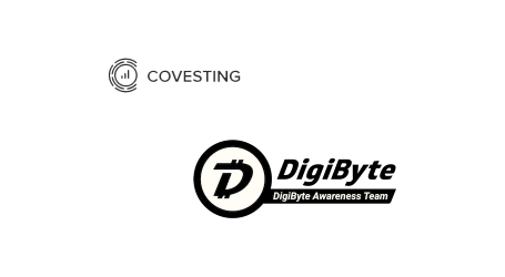 Crypto exchange Covesting adds DigiByte token as its first listing
