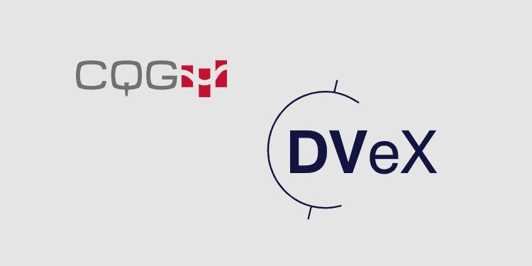 CQG to provide trading platform access to DVeX crypto exchange