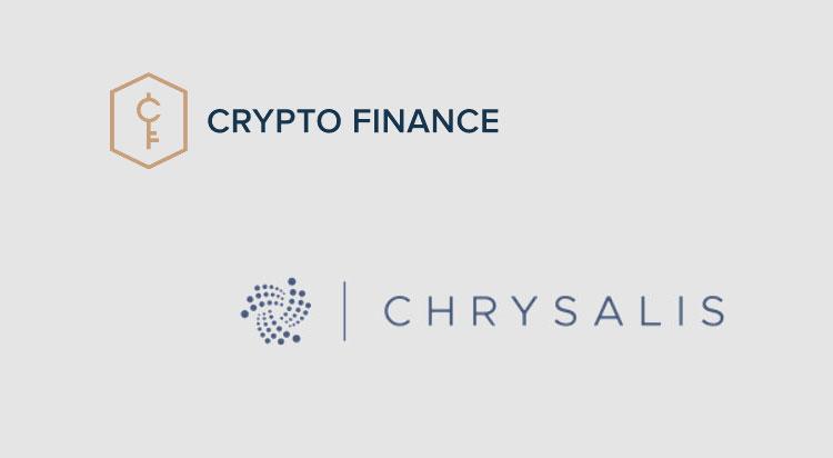 Crypto Finance Group supports IOTA Chrysalis upgrade