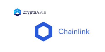Crypto APIs to integrate its market data on Chainlink