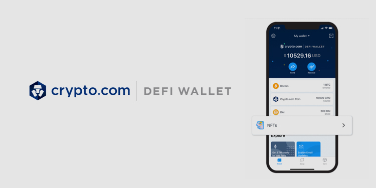 Crypto.com DeFi Wallet adds support for Ethereum-based NFTs