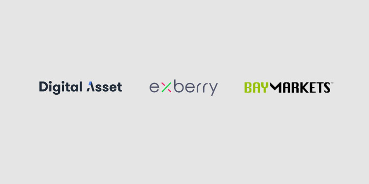 Digital Asset and Exberry assist Baymarkets in adding clearing to its digital asset exchange