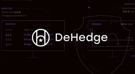 Cryptocurrency risk hedging platform DeHedge over 1,500 ETH raised