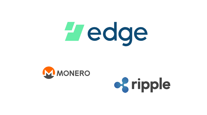 Edge Wallet adds Ripple and Monero