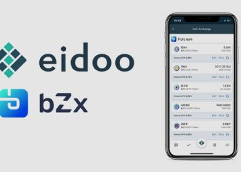 Interest accumulating iTokens added to Eidoo's DeFi Exchange portal