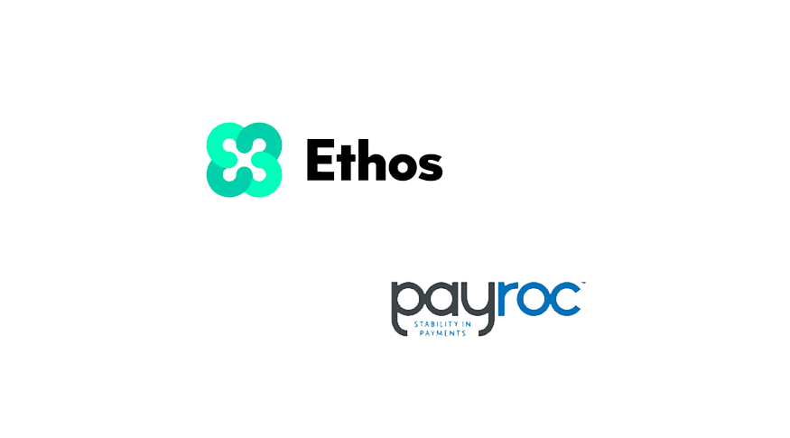 Payroc and Ethos announce cryptocurrency enabled payments partnership