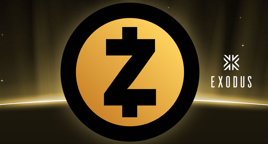 Cryptocurrency wallet Exodus adds Zcash for its 50th release