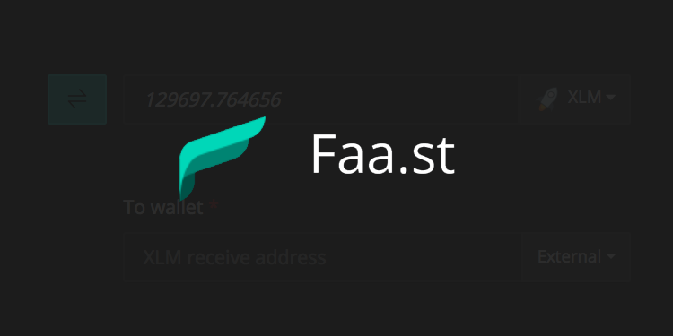 Crypto swap app Faast adds support for Stellar (XLM)