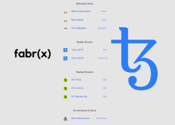 Fabrx completes protocol-tevel triggers and events platform for Tezos blockchain