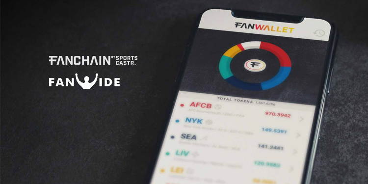 FanChain token integrated on FanWide to monetize sports viewing parties