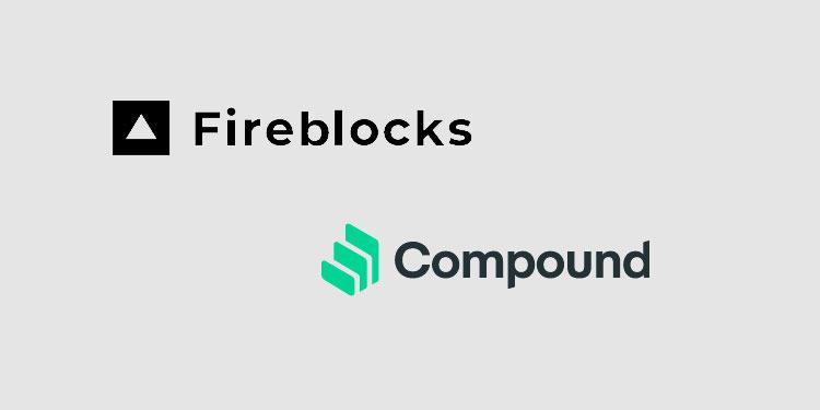Interest rate protocol Compound integrated with MPC blockchain platform Fireblocks