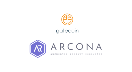 Augmented reality ecosystem Arcona gets token listed on Gatecoin