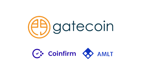 Crypto exchange Gatecoin joins Coinfirm's AMLT Network