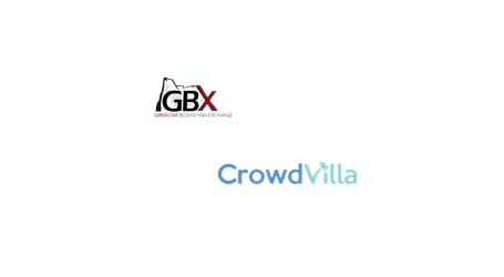 Crowdvilla to be 3rd token launched on Gibraltar Blockchain Exchange (GBX)