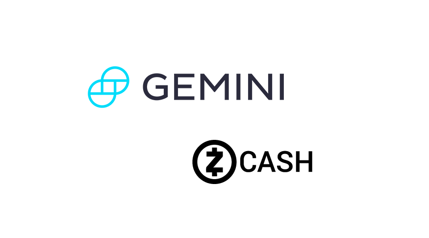 Gemini adds support for Zcash (ZEC) exchange