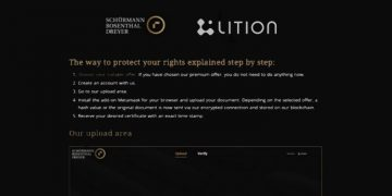 Lition's blockchain technology to protect client data for leading German law firm