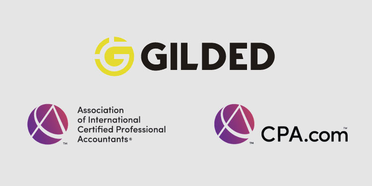 Blockchain finance platform Gilded selected for AICPA and CPA.com startup accelerator