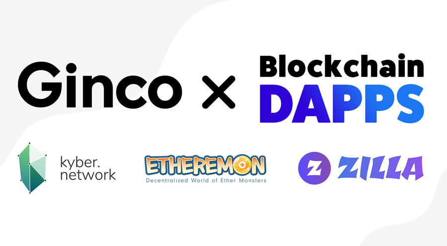 Japanese crypto wallet Ginco partners with Kyber, Etheremon, and ZILLA