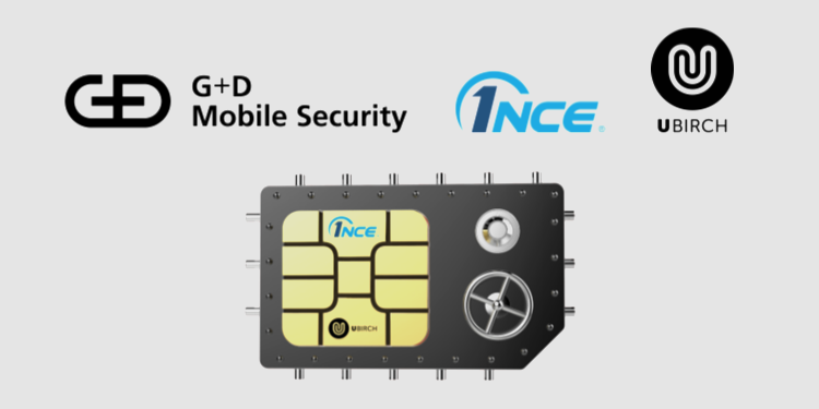 G+D Mobile Security, Ubirch and 1NCE combine blockchain and IoT security for SIM cards