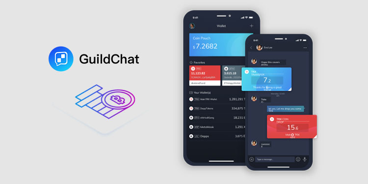 GuildChat now supports bitcoin (BTC) through its multi-chain wallet