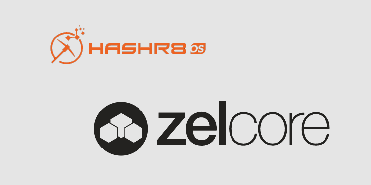 Mining rig monitoring from HashR8 integrated into ZelCore crypto wallet