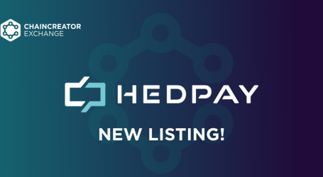 A new listing on the CHAINCREATOR Exchange – HEdpAY
