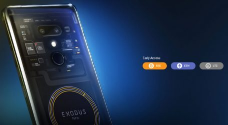 HTC blockchain phone 'EXODUS 1' available for early purchase with BTC, ETH, and LTC