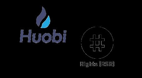 Huobi Prime to list Reserve Protocol's Reserve Rights Token (RSR)
