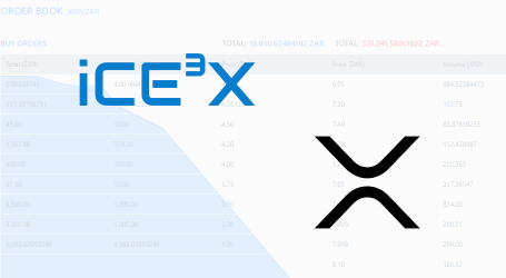 South African crypto exchange iCE3X adds Ripple (XRP) market