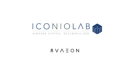 Iconiq Lab onboards VAEON Protocol, the first ICO backed by EOS VC