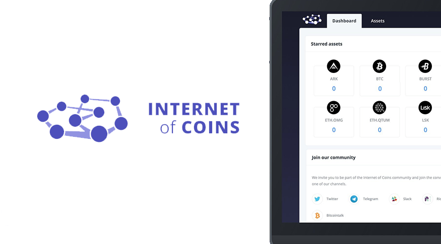 Internet Of Coins Cryptocurrency Wallet Beta Launches