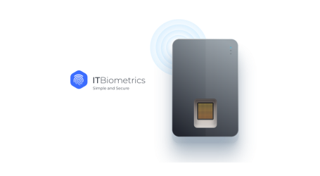 "ITBiometrics introduces ""cold"" fingerprint cryptocurrency hardware wallet"