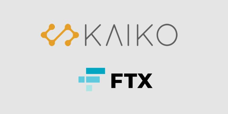 Crypto derivatives exchange FTX added to Kaiko's crypto data platform