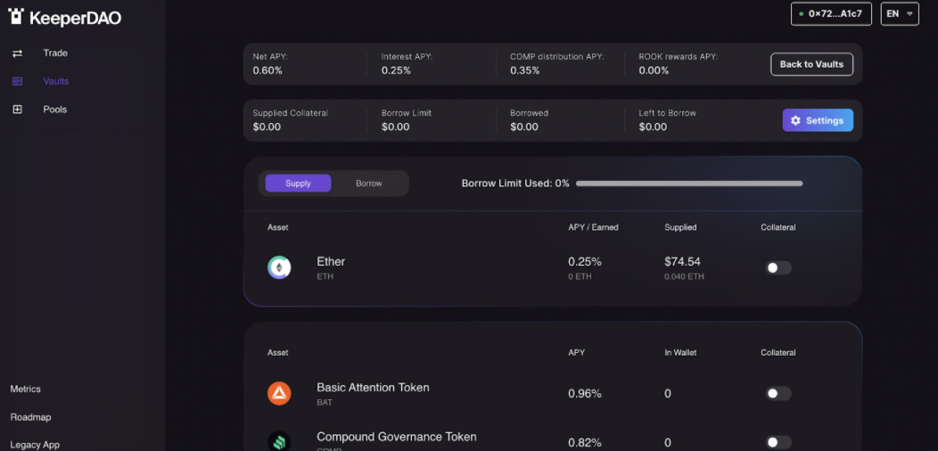 DeFi app KeeperDAO introduces new smart contract borrowing and liquidation protection