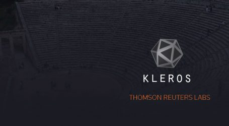 Kleros joins Thomson Reuters incubator to build a justice protocol for the internet