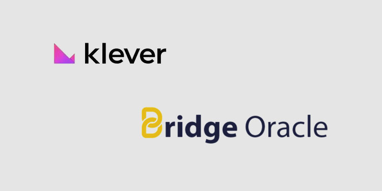 Klever Swap list token of TRON oracle system Bridge Oracle (BRG)