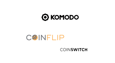 Komodo KMD listed on CoinFlip ATMs, launches dedicated exchange on CoinSwitch