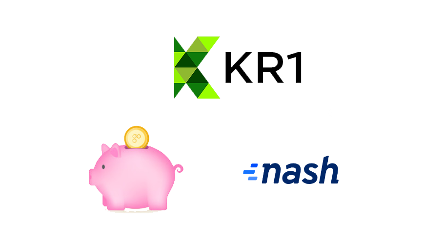 KR1 liquidates OmiseGo (OMG) and cashes in Nash Exchange (NEX) tokens