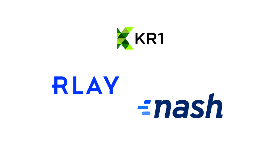 Blockchain asset fund KR1 invests in data validation project Rlay and Nash Exchange